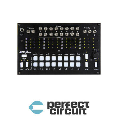 Twisted Electrons Crazy8Beats DRUM SEQUENCER - NEW - PERFECT CIRCUIT • 292.23£