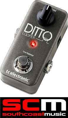 TC Electronic Ditto Looper Guitar Loop FX Pedal 5 Minutes Of Looping W Warranty • 145.98£