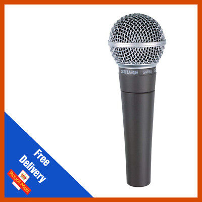 Shure SM58 Vocal Cardoid Mic • 110£
