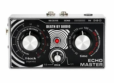 Death By Audio Echo Master Vocal Delay Pedal EFFECTS - NEW - PERFECT CIRCUIT