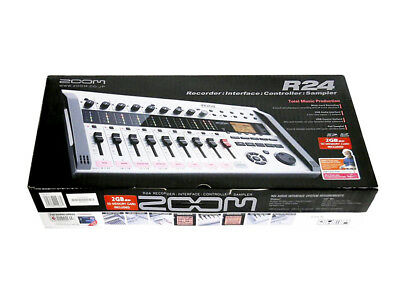 ZOOM R24 Hi Quality Multi-track Recorder From Japan DHL Fast Ship With Tracking • 364.37£
