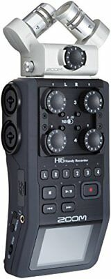 ZOOM H6 Linear PCM / IC Hi Class Digital Recorder From Japan DHL Fast Ship NEW • 447.69£
