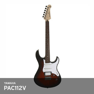 Yamaha PAC112V Pacifica Double Cutaway Electric Guitar Alder Rose Wood UPS / OVS • 413.72£