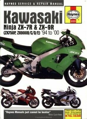 Kawasaki ZX750P (Ninja ZX-7R) And ZX900B/C/D/E (Ninj... By Coombs, Mark Hardback • 14.99£