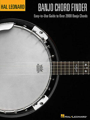 Hal Leonard Banjo Chord Finder Book 2800 Chords! Brand New Learn To Play Book  • 16.54£