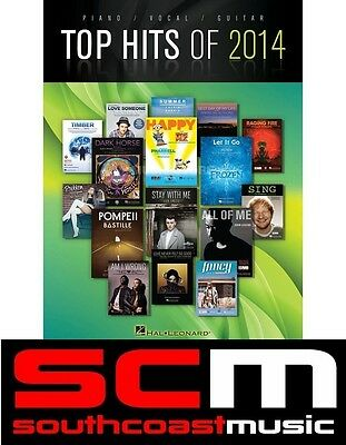The Top Hits of 2014 PVG Music Song Book Piano Vocal Guitar PVG Songbook