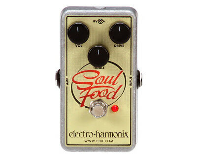 Electro Harmonix Soul Food Overdrive Pedal FX Effects Guitar EHX SOULFOOD  • 111.14£
