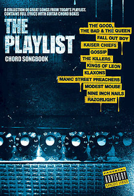 Kings of Leon plus more GUITAR CHORD BOOK THE PLAYLIST 41 SONGS W/ LYRICS NEW