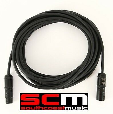 DADDARIO PLANET WAVES CLASSIC MICROPHONE CABLE 25 PW-CMIC 25ft XLR LEAD • 21.93£