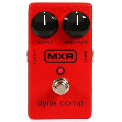 MXR M102 Dyna Comp Compressor Effects FX Pedal W Output Sensitivity Knobs MXR102 • 106.16£