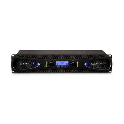 Crown XLS 1502 Two-channel 525 Watts @ 4ohms Power Amplifier With DSP, New! • 337.73£
