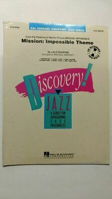 Discovery Jazz Series. Mission: Impossible Theme. Hal, Leonard: • 25.58£