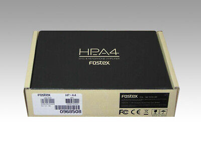 FOSTEX HP-A4 Headphone Amplifier DAC + HP Amp Hi-Res DSD Native Portable NEW • 319.59£