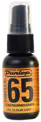Jim Dunlop Formula 65 Guitar Polish & Cleaner 1oz • 6.99£