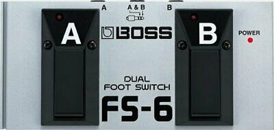 FS-6 Boss Pedal Dual Foot Switch Fender Picks FROM JAPAN NEW Roland • 62.77£