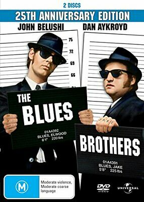 The Blues Brothers [25th Anniversary] [2 Discs] [NON-UK Format / Region 4 Imp. • 6.20£