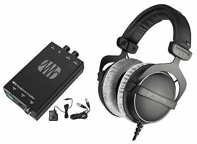 Beyerdynamic DT-770-PRO-250 Studio Tracking Headphones+Presonus Headphone Amp • 209.20£