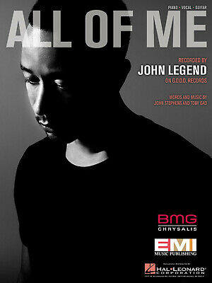 John Legend: All of Me: Vocal and Piano: Single Sheet