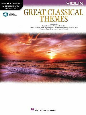 Great Classical Themes: Violin: Instrumental Album • 11.50£