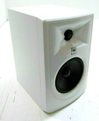 JBL 305P MKII Studio Monitor, White-DAMAGED- RRP £130 • 89£
