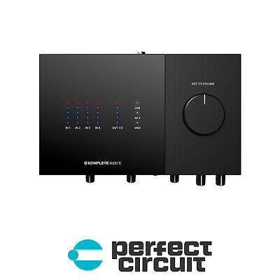 Native Instruments Komplete Audio 6 Mk2 Audio INTERFACE NEW - PERFECT CIRCUIT • 184.46£