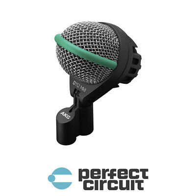 AKG D112 MKII Bass Drum Mic Microphone PRO AUDIO - NEW - PERFECT CIRCUIT • 161.72£