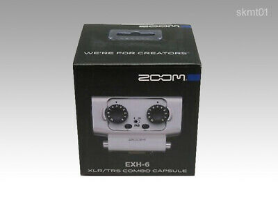 ZOOM EXTERNAL XLR TRS INPUT EXH-6 For H5 H6 Dual Combo Capsule From Japan New • 81.67£