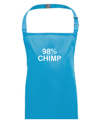 98% Chimp- The DNA We Share With Chimpanzees- Children's Kids Apron • 13.95£