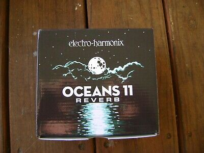 Electro Harmonix Oceans 11 Reverb  EMPTY RETAIL STORAGE BOX/Owners Manuals • 7.89£