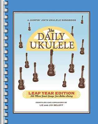 The Daily Ukulele – Leap Year Edition: Vocal And Guitar: Mixed Songbook • 33.99£