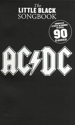 AC/DC: The Little Black Songbook: AC/DC: Vocal: Instrumental Album • 11.30£