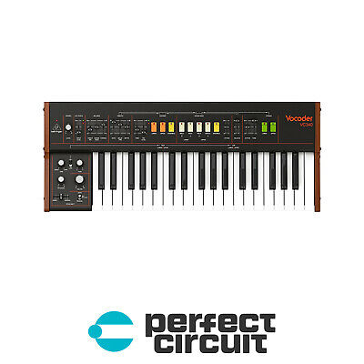 Behringer VC340 String Machine / Vocoder KEYBOARD - NEW - PERFECT CIRCUIT • 501.09£