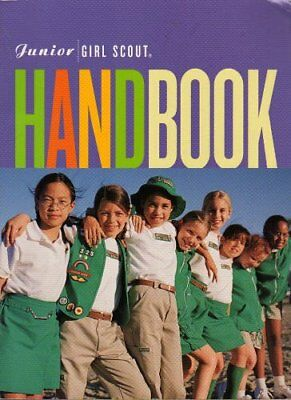 Girl Scouts Of The USA - GIRL SCOUT JUNIOR HANDBOOK Purple 2001 Great Condition • 6.12£