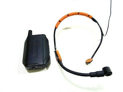 Shure GLXD14/SM31 Digital Wireless Headset System With SM31FH-USED-RRP £489 • 315£