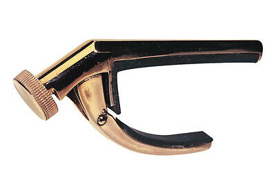 Victor Capo From Dunlop Bronze Curved Capo (for Standard Radius Guitars) • 15£
