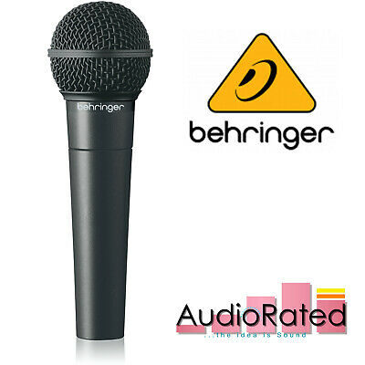 Behringer XM8500 Dynamic Cardioid Microphone Vocal Ultravoice SM58 Guitar Cab • 34.21£