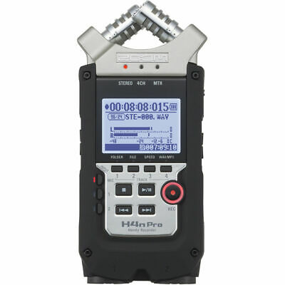 Zoom H4n Pro 4-Channel Handy Recorder • 162.99£