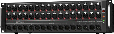 Behringer S32 Digital Snake - 32-Channel MIDAS Mic Preamps And 16 XLR DJ (NEW) • 862.94£