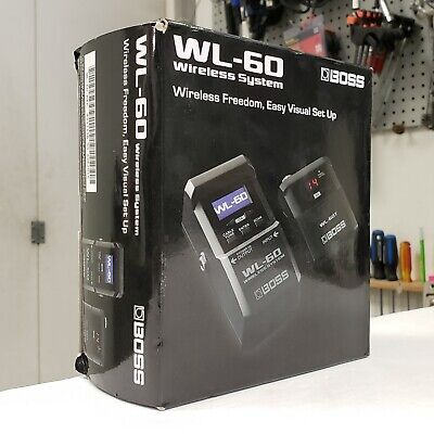 Boss WL-60 Wireless Electric Guitar Effects Pedal & Transmitter System • 206.75£