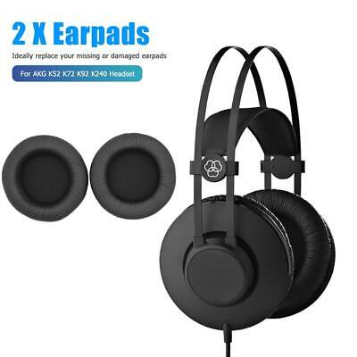 1 Pair Replacement Leather Ear Pads Cushions For AKG K52 K72 K92 K240 Headphones • 4.06£