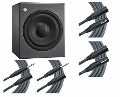 Neumann KH 750 KH750 Active Powered DSP Subwoofer Sub + Mogami Cables • 1,262.63£