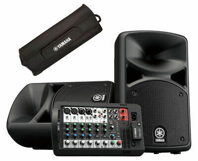Yamaha STAGEPAS 400 BT Bluetooth Active Powered PA System 400BT 400W + YBSP400i • 613.91£