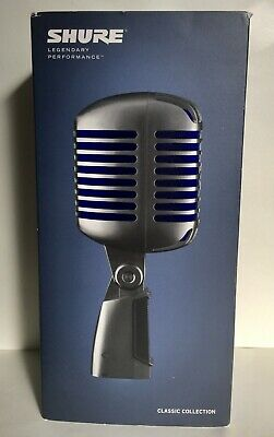 Shure Super 55 Deluxe Vocal Microphone Bundle • 152.71£