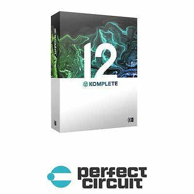 Native Instruments Komplete 12 UPG SOFTWARE - DIGITAL - PERFECT CIRCUIT • 314.06£