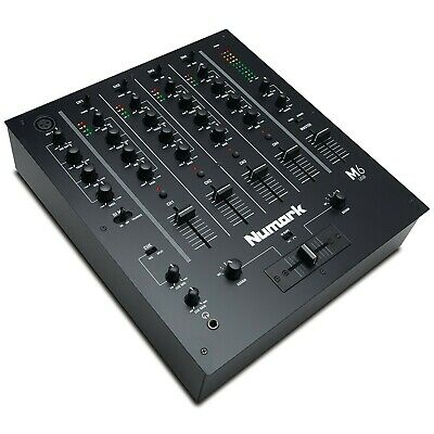 Numark M6 USB | 4-Channel DJ Mixer With On-Board Audio Interface, 3-Band EQ, ... • 224.99£