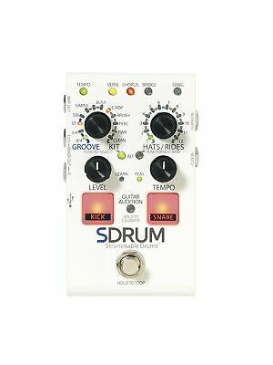 DigiTech SDRUM Guitar Effects Pedal Strummable Drum • 188.99£