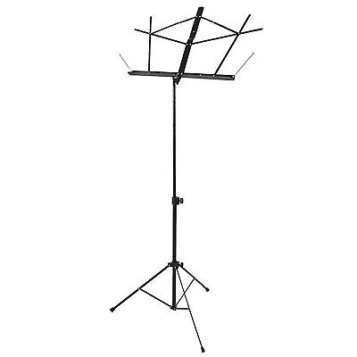 On Stage Stands SM7122B Compact Music Stand, Black • 27.99£
