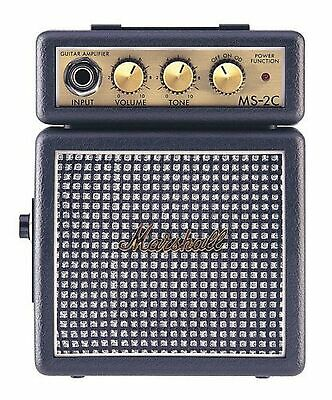 Marshall MS-2 Classic Electric Guitar Micro Mini Amp • 47.99£