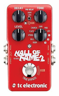 Tc Electronic Hall Of Fame 2 Reverb Pedal • 246.99£