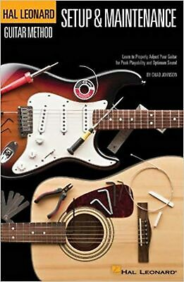 Hal Leonard Guitar Method: Guitar Setup & Maintenance • 27.99£